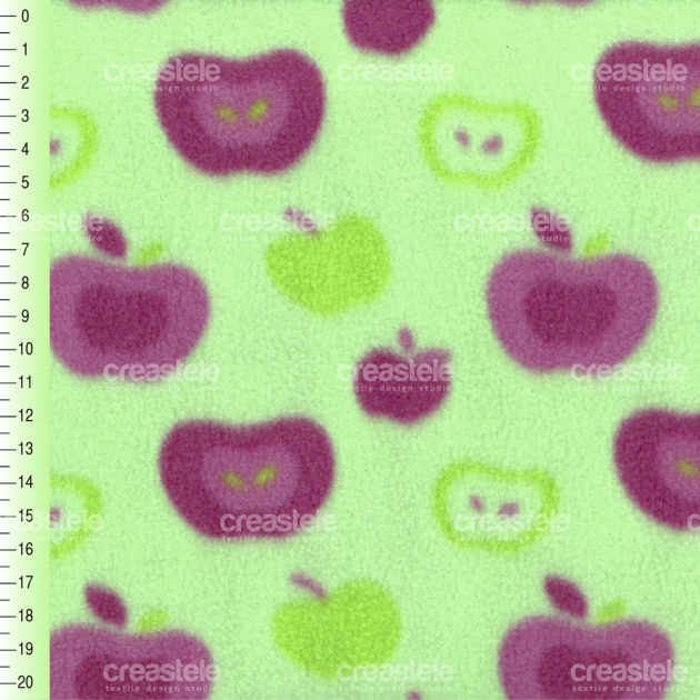 SHELYS FLEECE F 240 PRINT FRUITY 355 PAR
