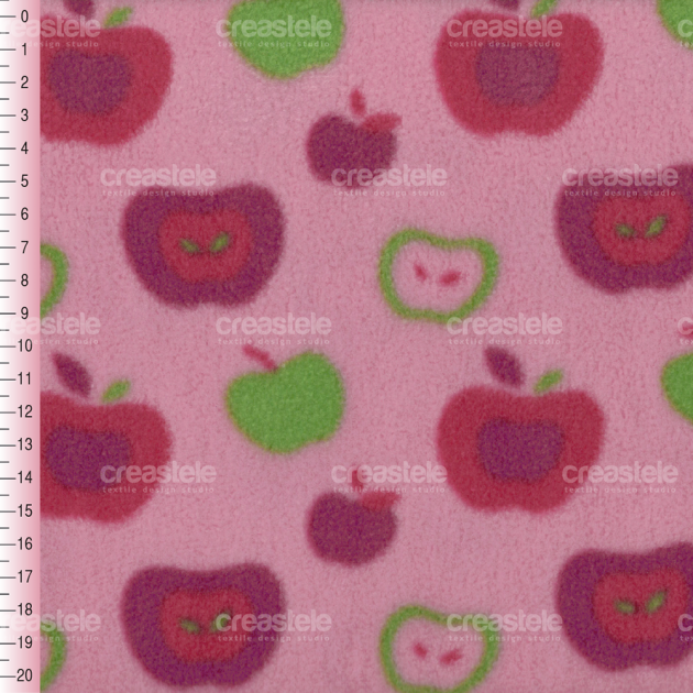 SHELYS FLEECE F 240 PRINT FRUITY 355