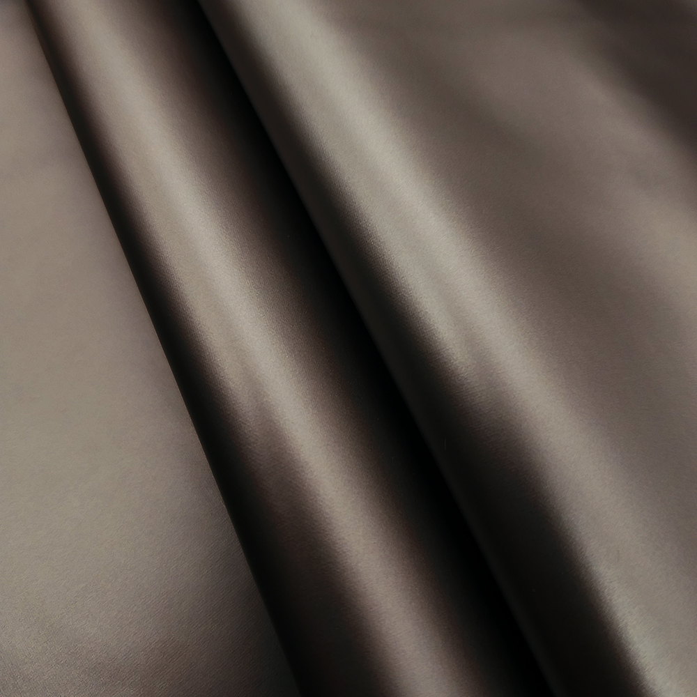 Металлизированная курточная ткань TISSEL GLAM OLD BRONSE