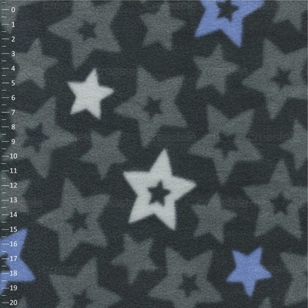 SHELYS FLEECE 240 PRINT STARS 469 CASTLEROCK