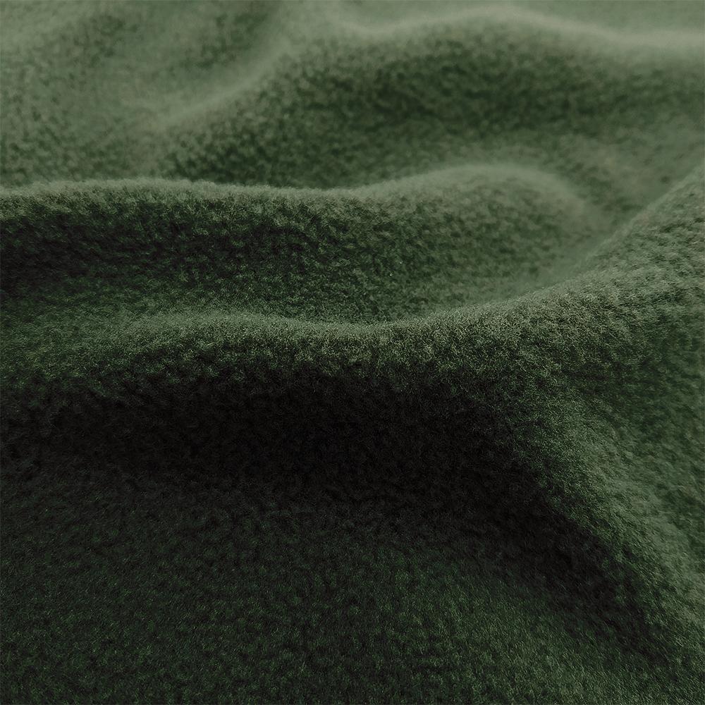 Односторонний зеленый флис на подкладку FLEECE 180 BEETLE