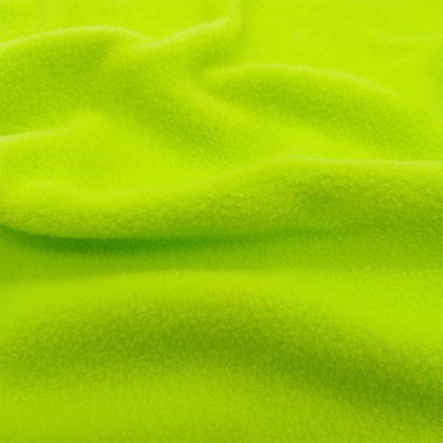 Односторонний салатовый флис на подкладку FLEECE 180 BRIGHT LIME