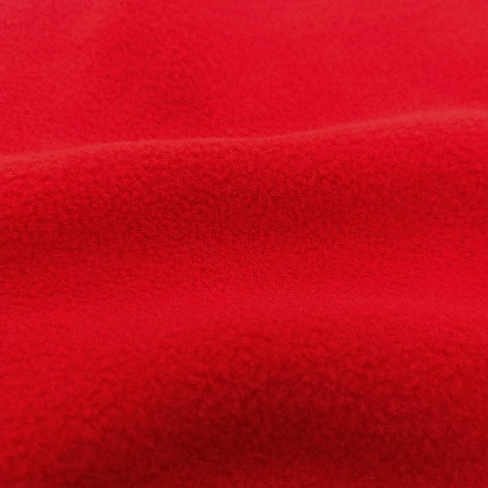 Флис двусторонний красный теплый и пушистый SHELYS FLEECE 290 DOUBLE FIERY RED
