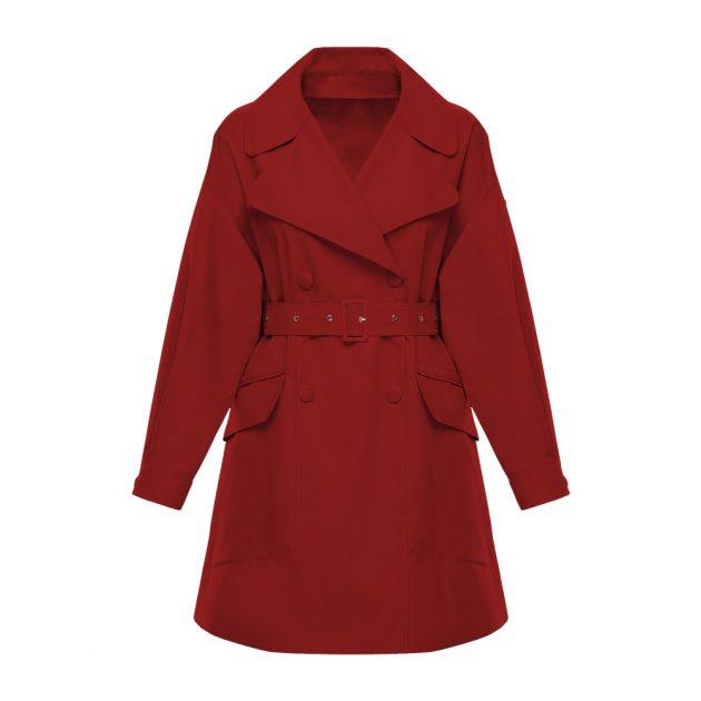 Мембранная ткань трендового цвета PREKSON TRENDY TANGO RED