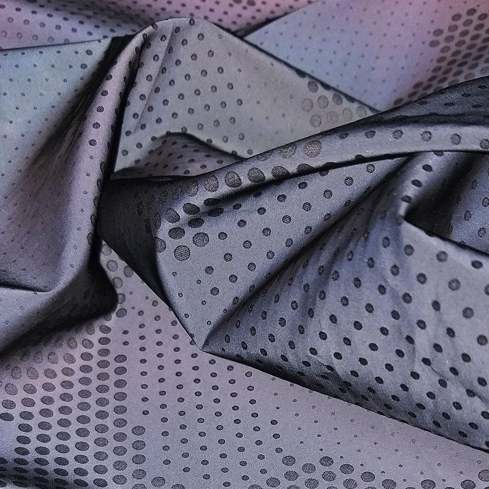 Светоотражающая курточная ткань PREKSON REFLECTIVE ZEBRA