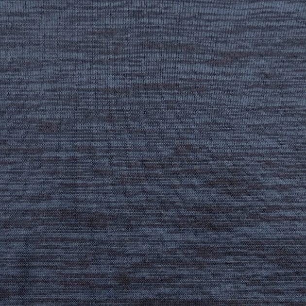 Флисовый трикотаж SHELYS CATIONIC PLAIN COPEN BLUE