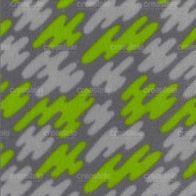 Флис принтованный SHELYS FLEECE 240 PRINT ABSTRACT 310 GREY